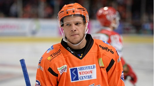 Lucas Sandström Sheffield Steelers